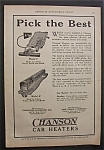 1923  Chanson  Car  Heaters