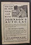 1923  Johnson's  Auto - Lac