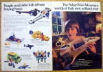 1982 Fisher Price Adventure Kit with Alpha Probe