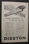 Click here to enlarge image and see more about item 3166: 1925   Disston  Saw