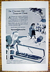 Vintage Ad: 1926 Waterman's Fountain Pen with Santa