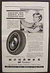 Vintage Ad: 1929 Mohawk Tires By Bradshaw Crandell