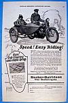 1923 Harley Davidson Motorcycle with Side Car