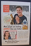 Click here to enlarge image and see more about item 3371: 1948 Camel Cigarettes with Cal Gardner