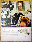1948 Beer Belongs Ad(Wedding Anniversary) /D. Crockwell