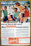 Vintage Ad: 1949 Come To Florida