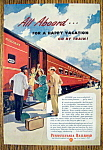 Vintage Ad: 1949 Pennsylvania Railroad