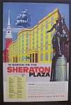 Click here to enlarge image and see more about item 3413: 1955  Sheraton  Plaza  Hotel