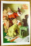 Click to view larger image of 1964 Coca-Cola (Coke) with Santa Claus & Puppy (Image3)