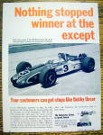 Click to view larger image of 1968 Raybestos Brake Lining with Bobby Unser (Image2)
