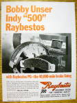 Click to view larger image of 1968 Raybestos Brake Lining with Bobby Unser (Image4)
