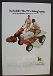 Click here to enlarge image and see more about item 3538: 1970  Gravely  Riding  Tractor