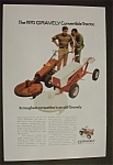 Click here to enlarge image and see more about item 3577: 1970  Gravely   Convertible  Tractor