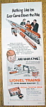 Vintage Ad: 1954 Lionel Trains With Magni-Traction