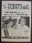 Vintage Ad: 1940 White Owl Cigars with Paul Derringer