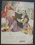 Vintage Ad: 1946 Pacific Sheets