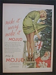1951 Mojud Stockings with Santa Claus & Presents