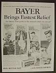 Vintage Ad: 1958 Bayer Aspirin