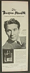 Vintage Ad:1950 Williams Aqua Velva w/ Burgess Meredith