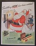 1941 Old Gold Cigarettes with Santa Claus