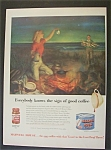 Vintage Ad: 1951  Maxwell  House  Coffee