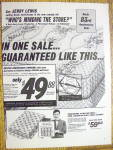 Click to view larger image of 1964 Sealy Mattress with Jerry Lewis (Image3)