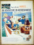 Click to view larger image of 1959 Hires Root Beer with Family Sailing on Boat (Image1)