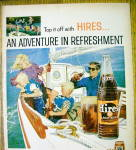 Click to view larger image of 1959 Hires Root Beer with Family Sailing on Boat (Image2)