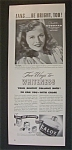 1942 Calox Tooth Powder with Paulette Goddard