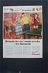 1952 B.F. Goodrich Koroseal with Kids In Game Room