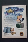 1953 Luggage By U.S. Trunk Co. with Christmas Dream