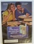 1986  Benson & Hedges Cigarettes