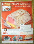 Click to view larger image of 1958 Betty Crocker Meringue Mix with Baked Alaska (Image1)