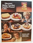 1977  Betty  Crocker  Pound  Cake  Mix