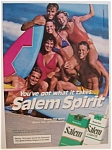 1985  Salem  Cigarettes