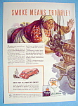 Click here to enlarge image and see more about item 3: Vintage Ad: 1941 Texaco Havoline Motor Oil/Albert Dorne