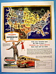 Vintage Ad: 1949 National Trailways Bus System