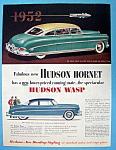 Vintage Ad: 1952 Hudson Hornet