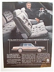 1983  Chrysler Fifth Avenue with Ricardo Montalban