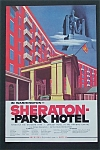 Click here to enlarge image and see more about item 409: 1954  Sheraton-Park Hotel