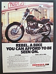 Click here to enlarge image and see more about item 4178: 1986  Honda  Rebel