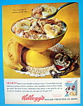 Click to view larger image of Vintage Ad: 1963 Kellogg's Sugar Frosted Flakes (Image1)