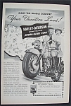 Click here to enlarge image and see more about item 4337: 1949  Harley - Davidson  Motorcycles