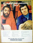 1973 United Air Lines with Walt Frazier & Jerry Lucas