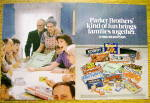 1983 Parker Brothers Games with Sorry, Monopoly & More