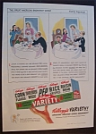 1947  Kellogg's  Variety  Cereal   Pack