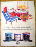 Click to view larger image of Vintage Ad: 1995 Maxwell House Coffee with Santa Claus (Image1)