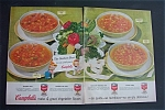 1954 Campbell's Soups with Chicken Soup & Beef Soup
