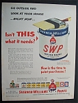 1952  Sherwin - Williams  Paint