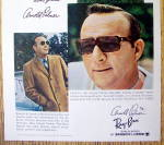 Click to view larger image of Vintage Ad: 1969 Ray Ban Sun Glasses w/Arnold Palmer (Image3)